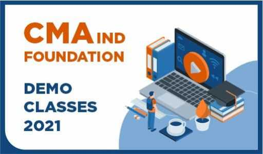 CMA INDIA Foundation Demo Class 2021