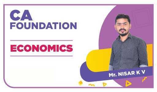 CA Foundation Economics by Nizar K V