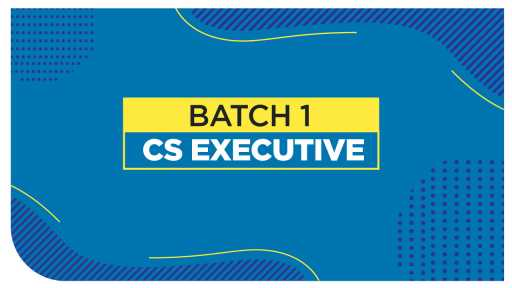 CS Executive - Law by Adv Poonam Panicker