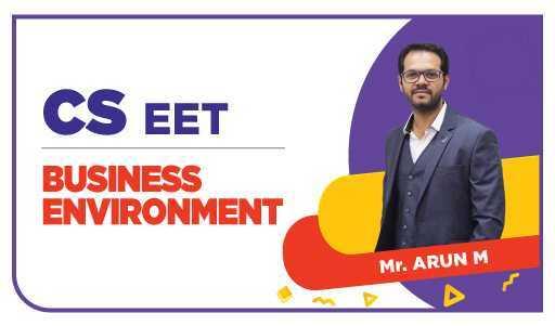 CSEET - NOV 21 Business Environment by Arun M