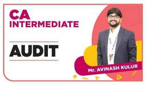 CA Inter Auditing by Prof Avinash Kulur