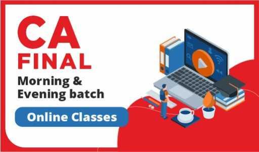 CA Final online classes