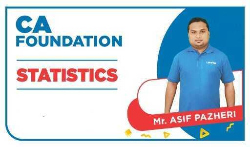 CA Foundation Statistics by Asif Pazheri