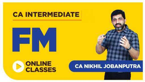 CA Inter FM BY Nikhil Jobanputra