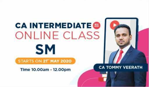 CA Intermediate-Strategic Management-CA Tommy
